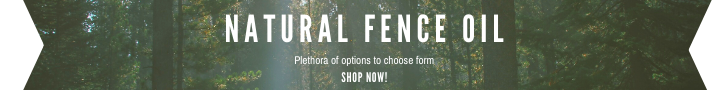 natural fence oil